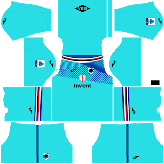 Sampdoria Goalkeeper Third Kit