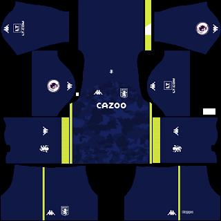 Aston Villa FC Goalkeeper Third Kit