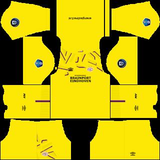 PSV Eindhoven Goalkeeper Third Kit