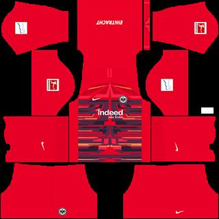 Eintracht Frankfurt Goalkeeper Third Kit