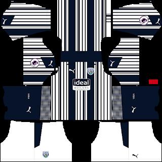 West Bromwich Albion FC DLS Kits