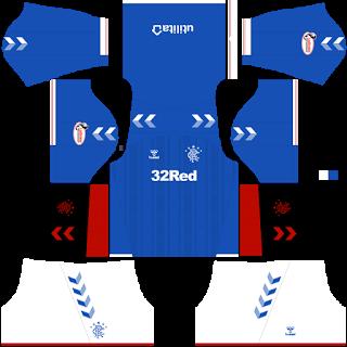 Rangers FC Home Kit