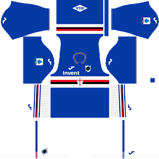 Sampdoria Home Kit