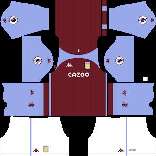 Aston Villa FC DLS Kits