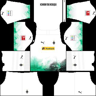 Borussia Monchengladbach Home Kit