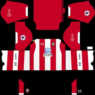Southampton FC Home Kit