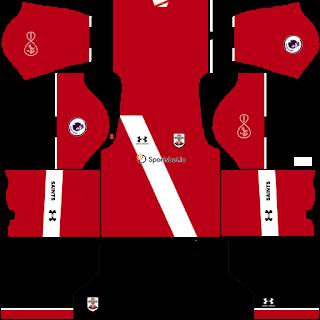 Southampton FC DLS Kits