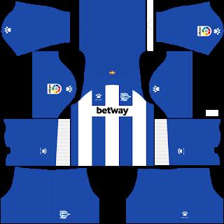 Deportivo Alaves Home Kit