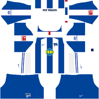 Hertha BSC Home Kit