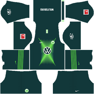 VfL Wolfsburg Home Kit