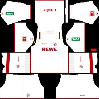 FC Köln Home Kit