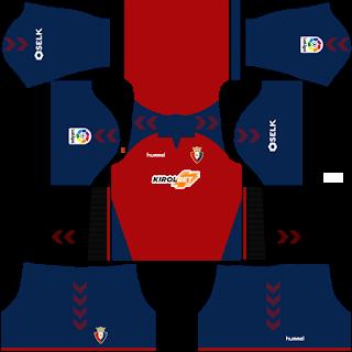 CA Osasuna Home Kit