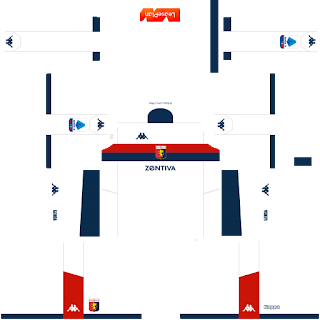 Genoa FC Away Kit