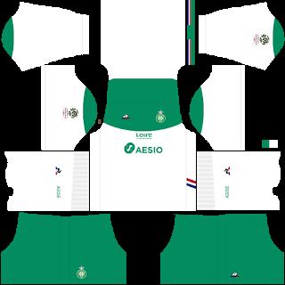Saint Etienne Away Kit