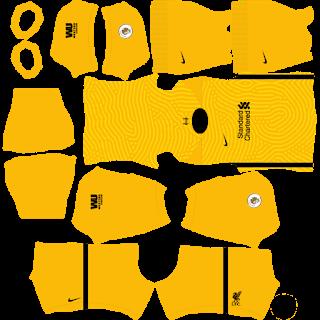 Liverpool GoalkeeperAway Kit