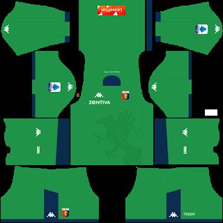 Genoa FC Goalkeeper Away Kit