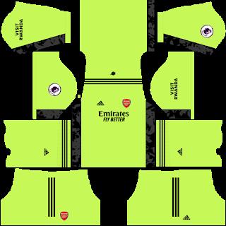 Arsenal Goalkeeper Away Kit