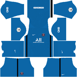 Kit fora do goleiro do Paris Saint-Germain