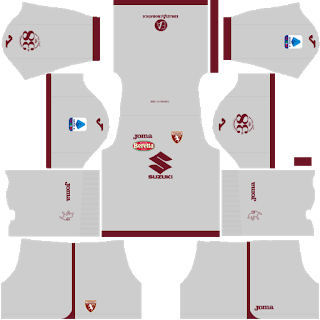 Torino FC Goalkeeper Away Kit
