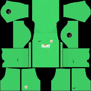 Olympique Lyonnais Goalkeeper Away Kit