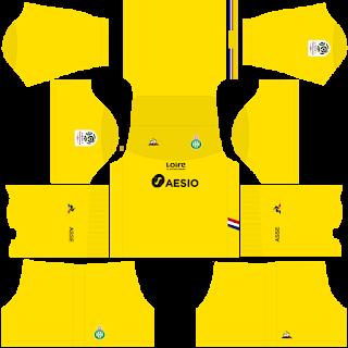Saint Etienne Goalkeeper Away Kit