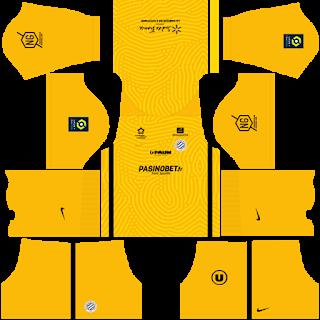 Montpellier HSC Goalkeeper Away Kit