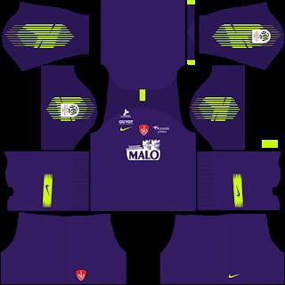 Stade Brestois Goalkeeper Away Kit
