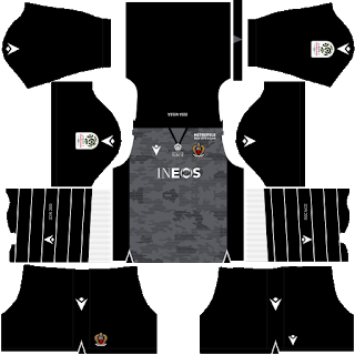 OGC Nice Goalkeeper Away Kit