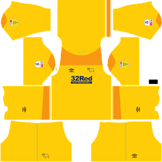 Derby County FC Goalkeeper Away Kit