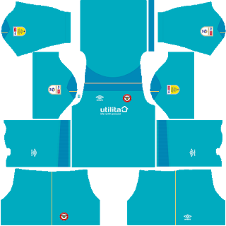 Brentford FC Goalkeeper Away Kit