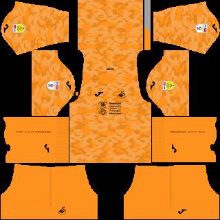 Swansea City AFC Goalkeeper Away Kit