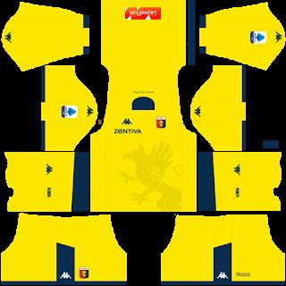 Genoa FC Goalkeeper Home Kit