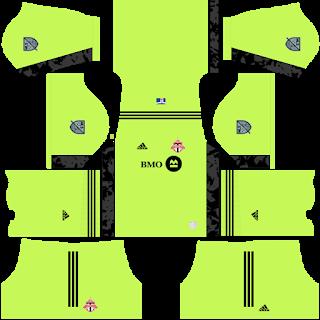 Toronto FC Goalkeeper Home Kit