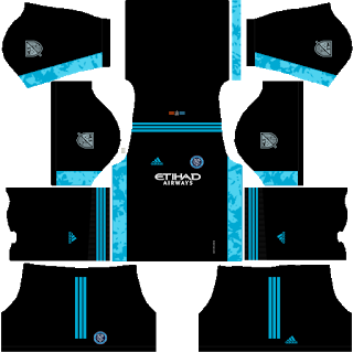 New York City FC Goalkeeper Home Kit