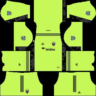 DC United Goalkeeper Home Kit