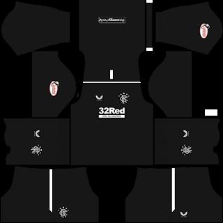 Rangers FC Goalkeeper Home Kit