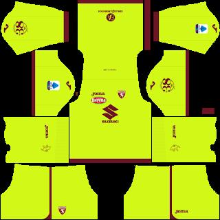 Torino FC Goalkeeper Home Kit