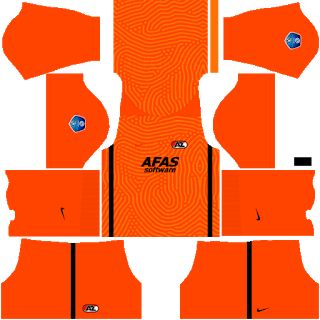 AZ Alkmaar Goalkeeper Home Kit