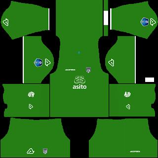 Heracles Almelo Goalkeeper Home Kit