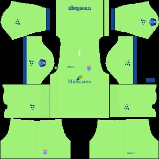 PEC Zwolle Goalkeeper Home Kit