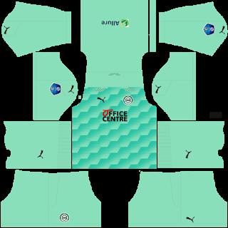 FC Groningen Goalkeeper Home Kit