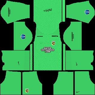SBV Vitesse Goalkeeper Home Kit