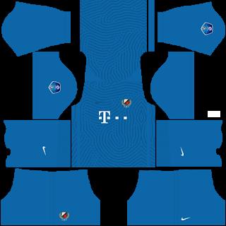 FC Utrecht Goalkeeper Home Kit