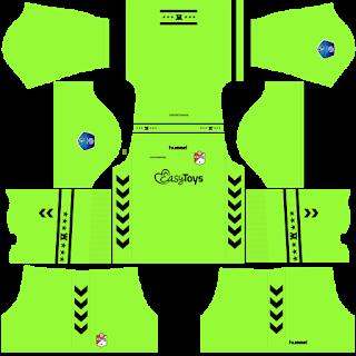 FC Emmen Goalkeeper Home Kit