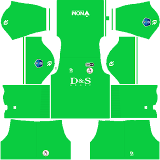 Sparta Rotterdam Goalkeeper Home Kit