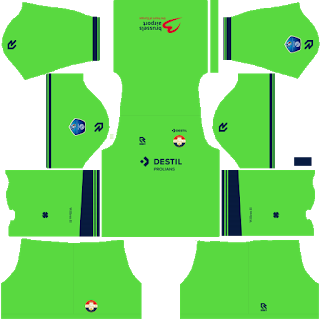 Willem II Goalkeeper Home Kit