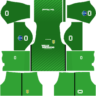 RKC Waalwijk Goalkeeper Home Kit