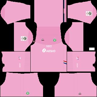 Saint Etienne Goalkeeper Home Kit