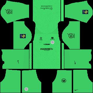 Montpellier HSC Goalkeeper Home Kit