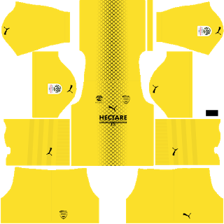 Nimes Olympique Goalkeeper Home Kit